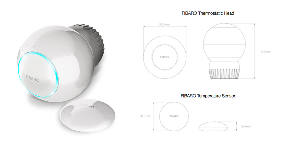 Fibaro Radiator Thermostat FGT-001
