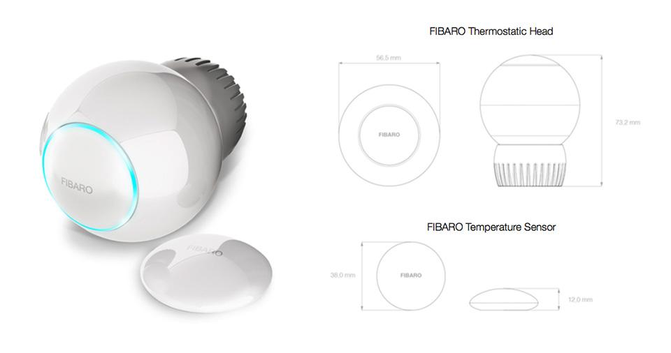 Fibaro Radiator Thermostat FGT-001