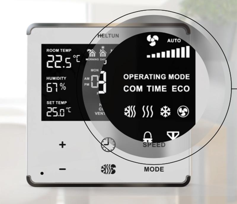 Thermostat 3 Stufen Automatik Lüftungsregelung Wochenthermostat Temperatur