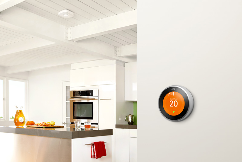 Thermostat intelligent Nest 3eme Generation