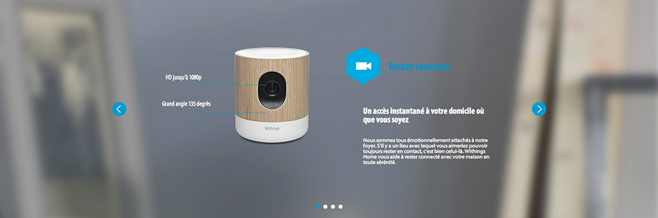 Withings Home - Restez connecté
