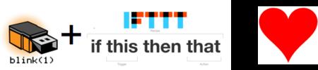 Blink(1) compatible IFTTT